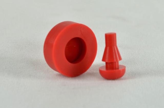 Compresión de piezas plásticas